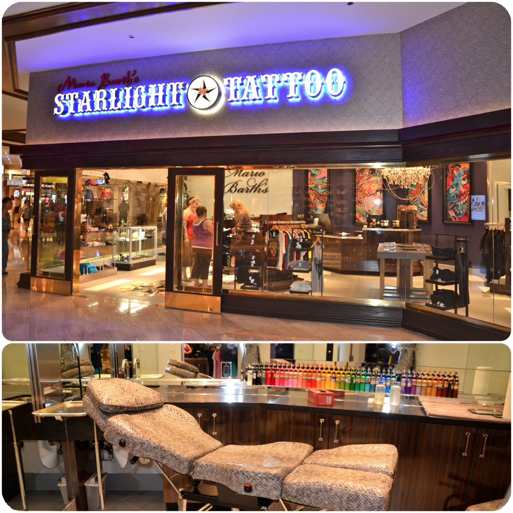 the brand new starlight tattoo shop is now open here at