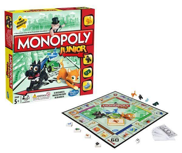 Los 4 Mejores Juegos De Mesa Para Ninos Monopoly Junior Juegos De