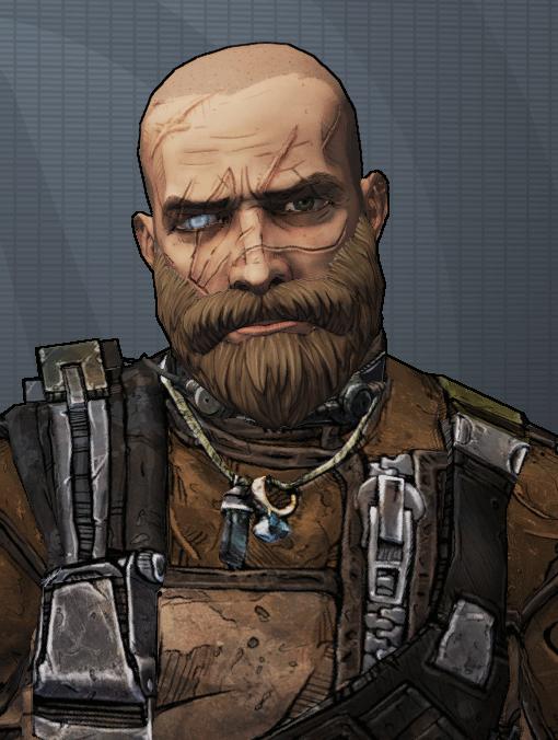 Axton Grizzled Veteran from Borderlands | Borderlands ...