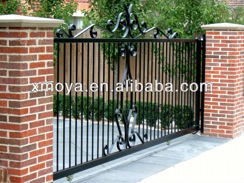 New Simple Sliding Gate Design - Buy Sliding Gate Design,New ...