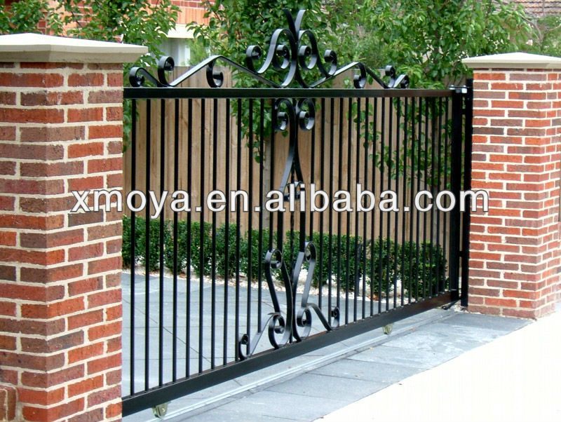 Simple Fence Gate Design new simple sliding gate design - buy sliding gate design,new