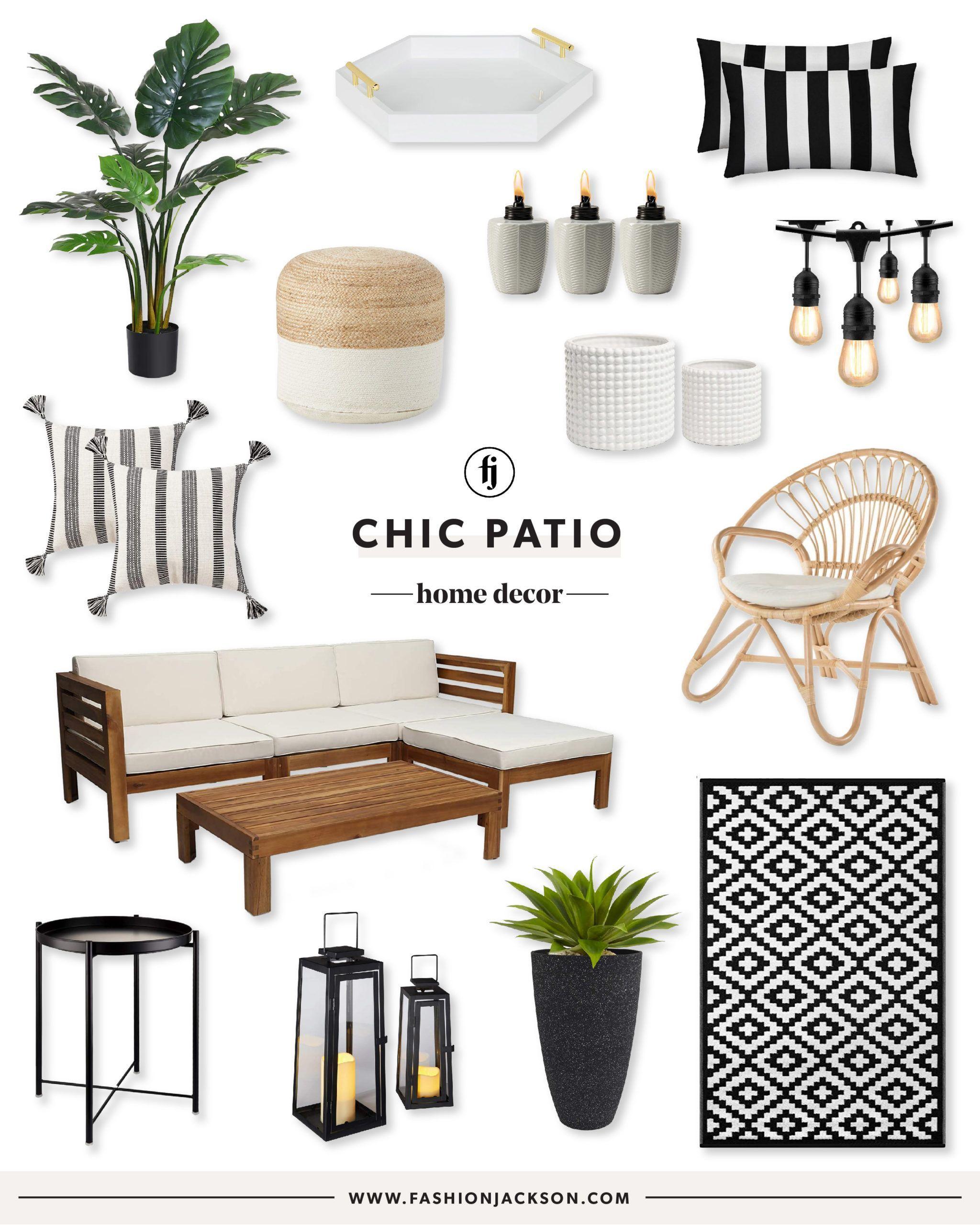 The Best Amazon Items To Use At Home Small Patio Decor Small Balcony Decor Patio Inspiration