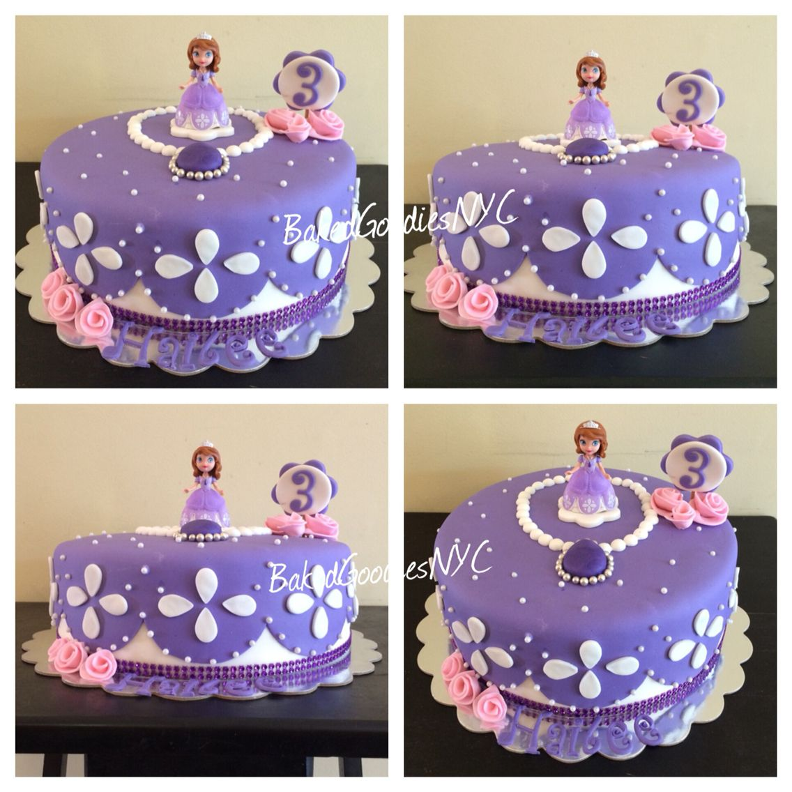 Stupendous Sofia The First Cake With Images Sofia The First Birthday Cake Funny Birthday Cards Online Overcheapnameinfo