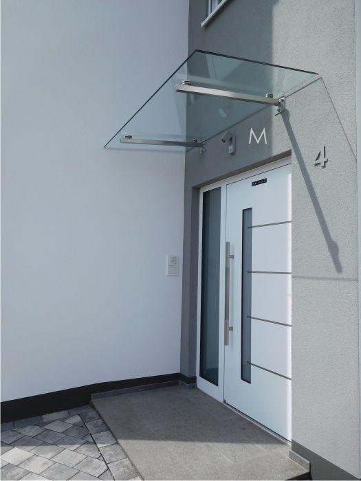 Montiert in 74722 Buchen Glasvordach, Vordach, Moderne