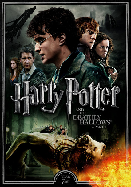 Harry Potter And The Deathly Hallows Part Ii 2011 For Rent On Dvd And Blu Ray Dvd Netflix Harry Potter Dvd Deathly Hallows Part 2 Harry Potter Movies