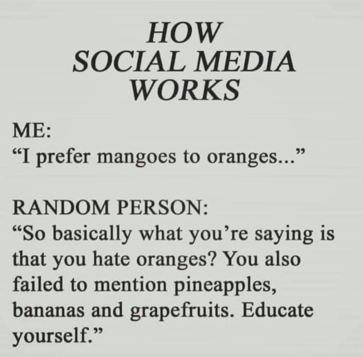 Pin By Beth Staley On Too Funny Social Media Humor Social Media Quotes Funny Memes
