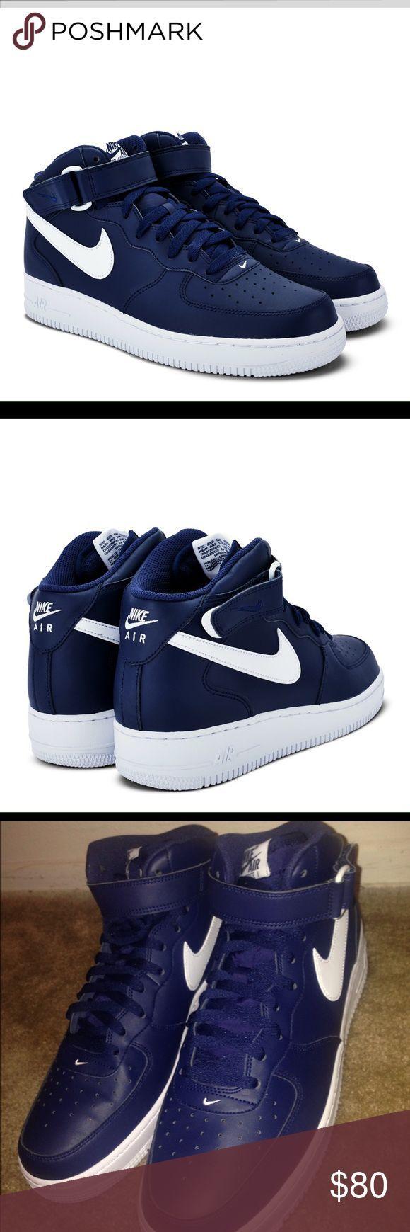 Nike Air Force 1 Low (Midnight NavyCool Grey) Sneaker Freaker
