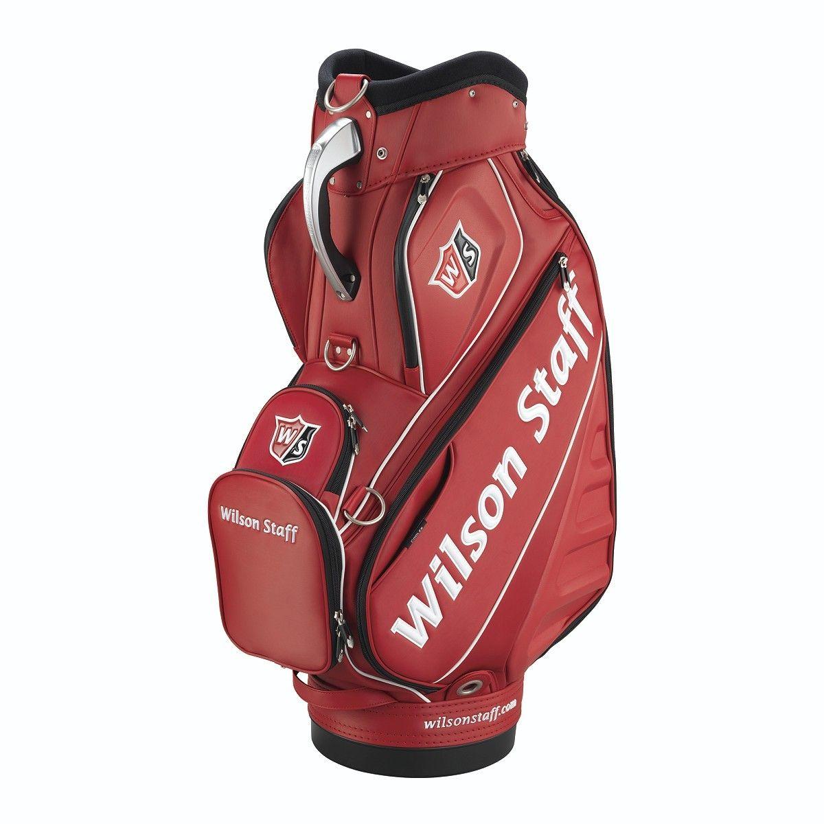 Wilson Staff Pro Tour Bag Red Golf bags, Ladies golf