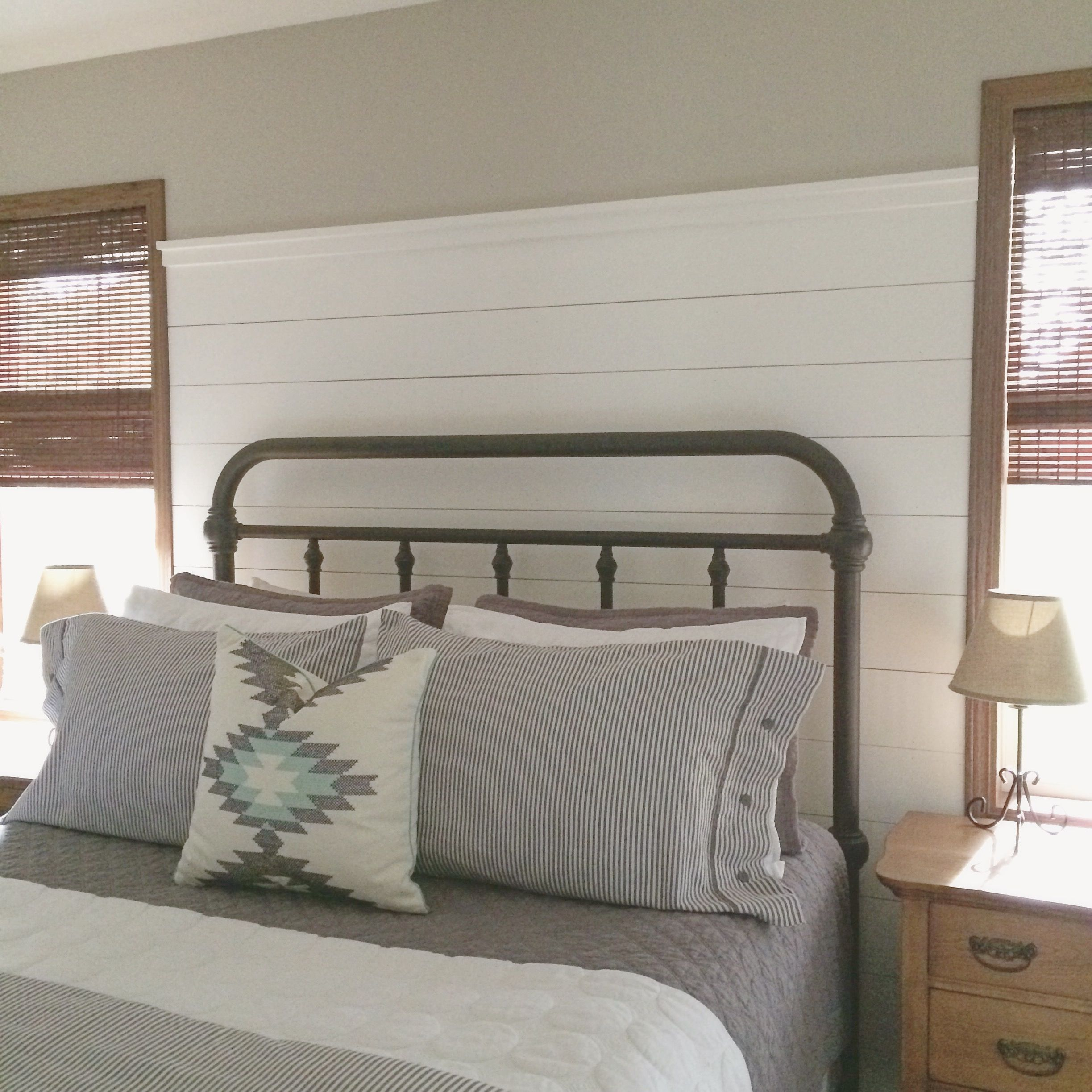 Master Bedroom Refresh Shiplap Modern Farmhouse Target Style