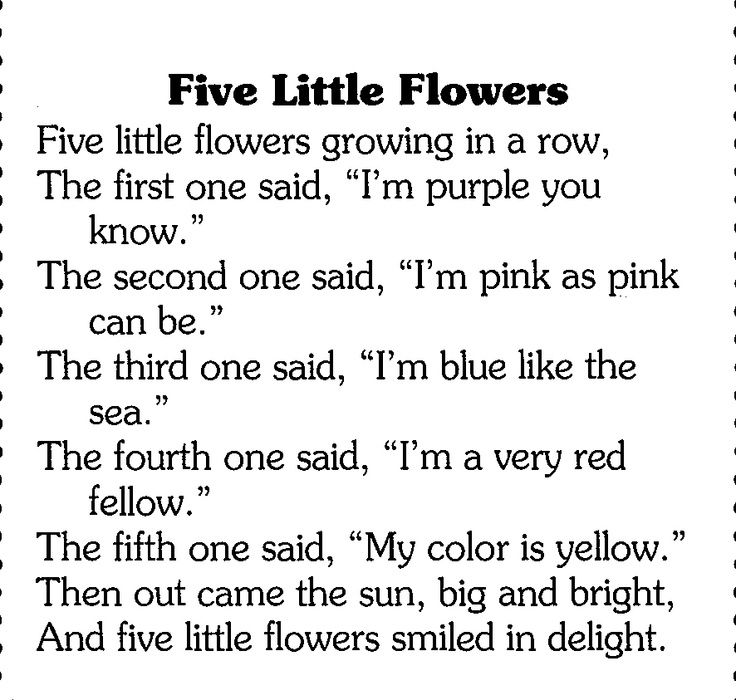 Poetry on flowers for kids google search kiga ideen - Ideen englisch ...