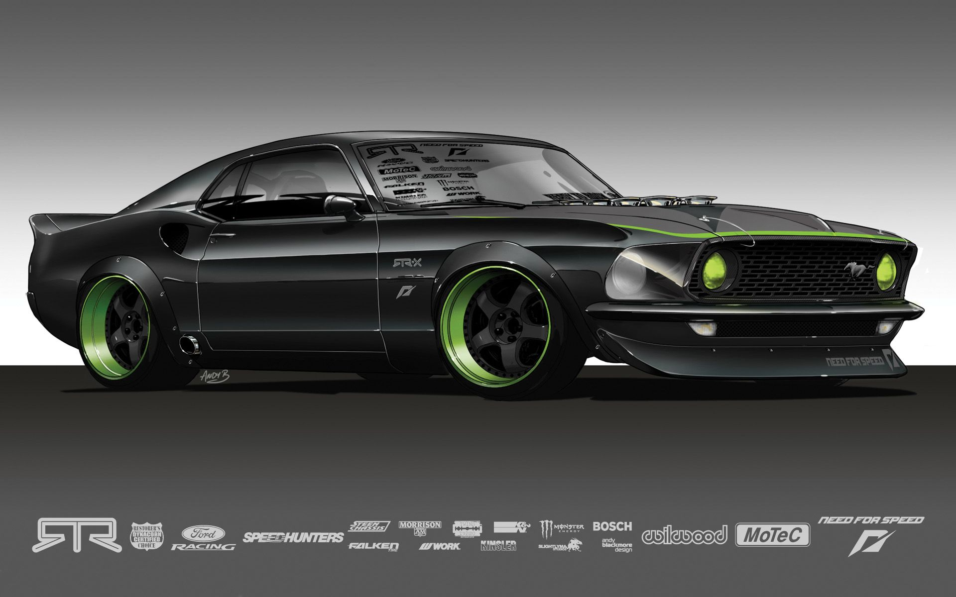 Rtrx Concept Ford Mustang 1969 Ford Mustang Mustang
