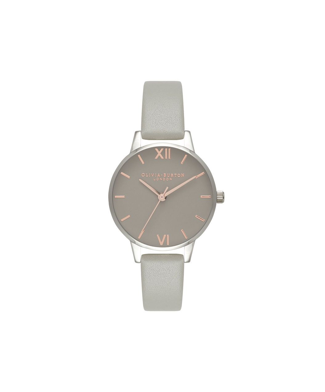 94fea9daf63d Ladies Midi Grey Dial Grey Rg   Silver Watch