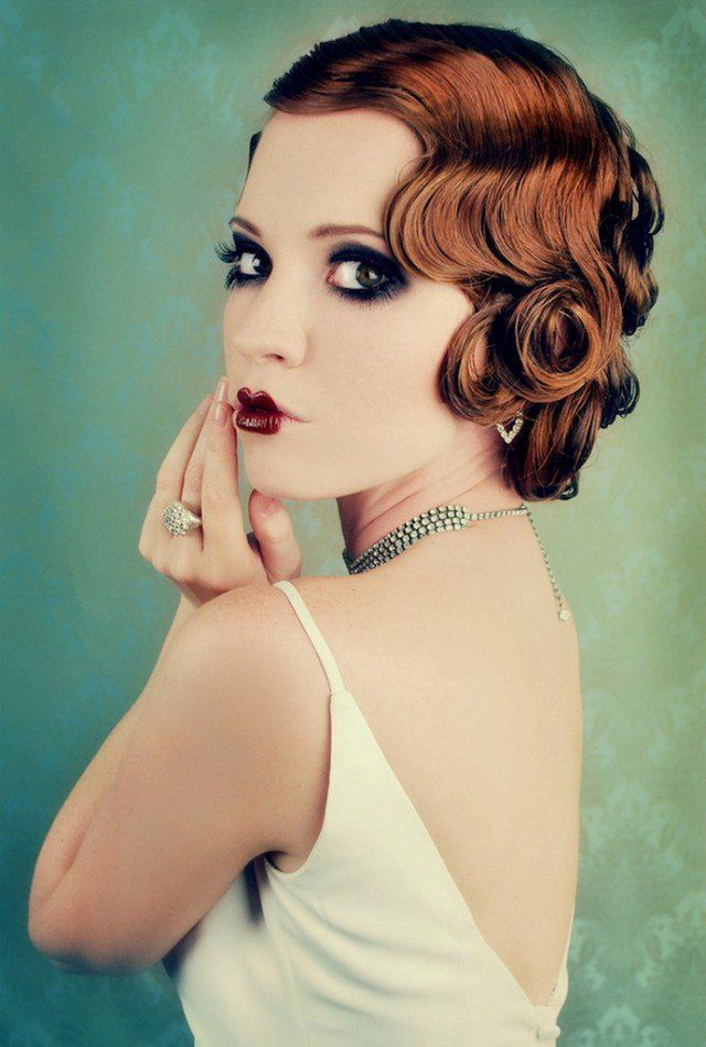 It Girl Style Vintage Curly Hairstyles Makeup And Hair Vintage