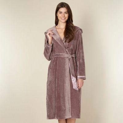 B By Ted Baker Fawn Moleskin Long Robe At Debenhamscom Clothes