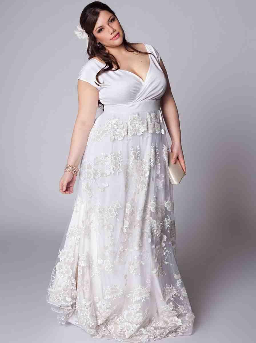 Cheap simple plus size wedding dresses amazing plussize clothing