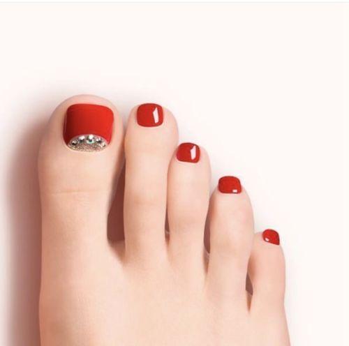 Impress Toe Nails Dashing Diva Pedicure Nails Nicole Scherzinger Edition Toe Toe Nails Pretty Toe Nails Gorgeous Nails