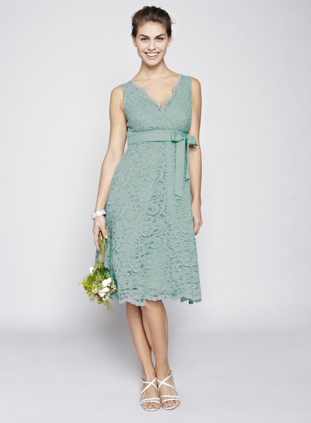 Dark Mint Bella Lace Short Bridesmaid Dress - BHS   bridesmaid ...