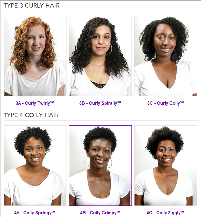 Do You Have 4a 4b Or 4c Hair Type This Quick Quiz Will Tell You Curly Hair Styles Hair Type Chart Curly Hair Styles Naturally