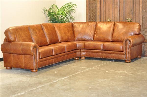 Durango Leather Sectional Creative Furniture