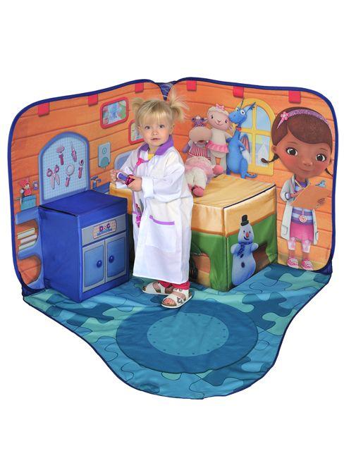 Doc Mcstuffins Toy Hospital 3d Pop Up Playscape Tent Kids Bedroom Doc Mcstuffins Toys Doc Mcstuffins Kids Rugs