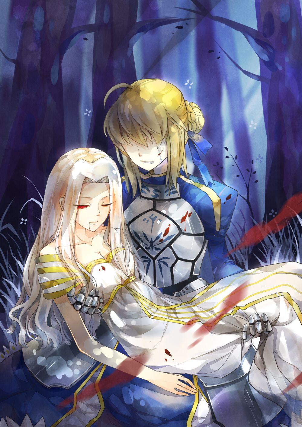 Saber / Irisviel Von Einzbern【Fate/Zero】 Fate anime