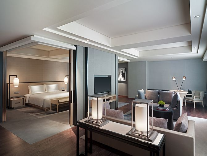 New World Beijing Hotel - One of Beijing\u0027s Newest Luxury Hotels - Plan Maison Moderne  Chambres