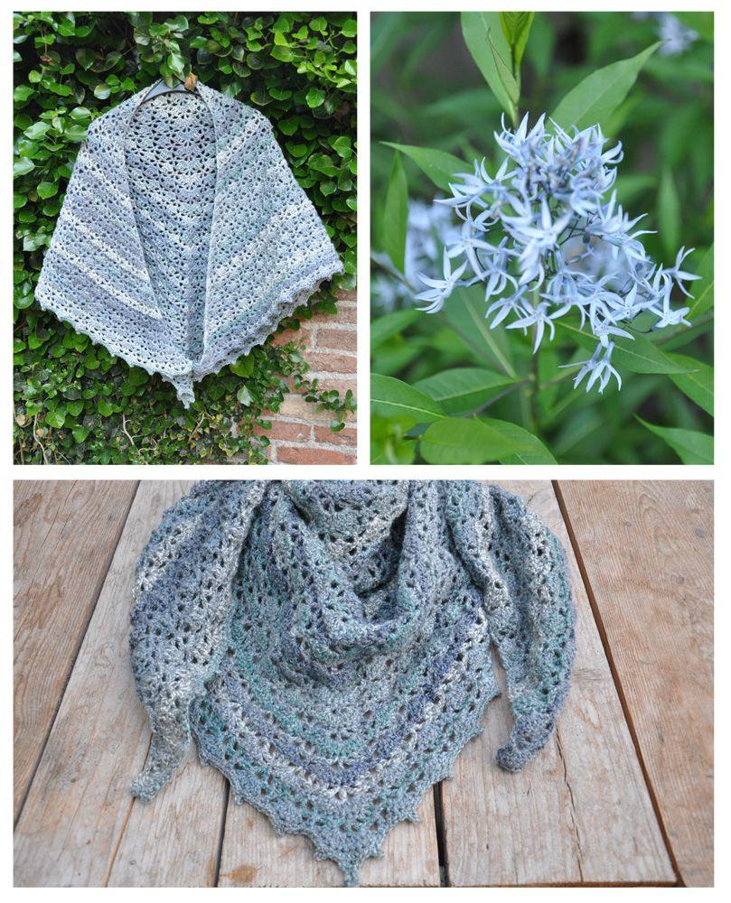 Bij Annemie van  Made by Mie for you zag ik haar prachtig gehaakte sjaals voor haar give away en ik was gelijk verkocht,dus kocht ik ...