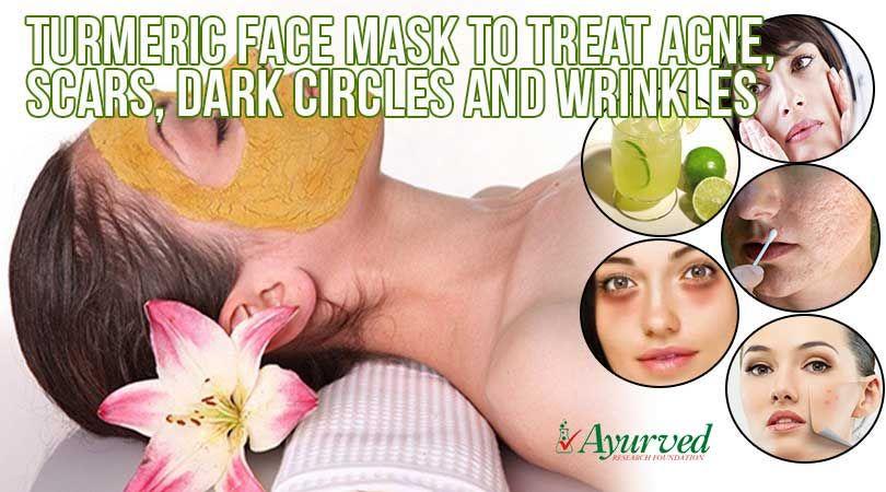 Turmeric Face Mask Recipe for Skin Problems | Turmeric ...