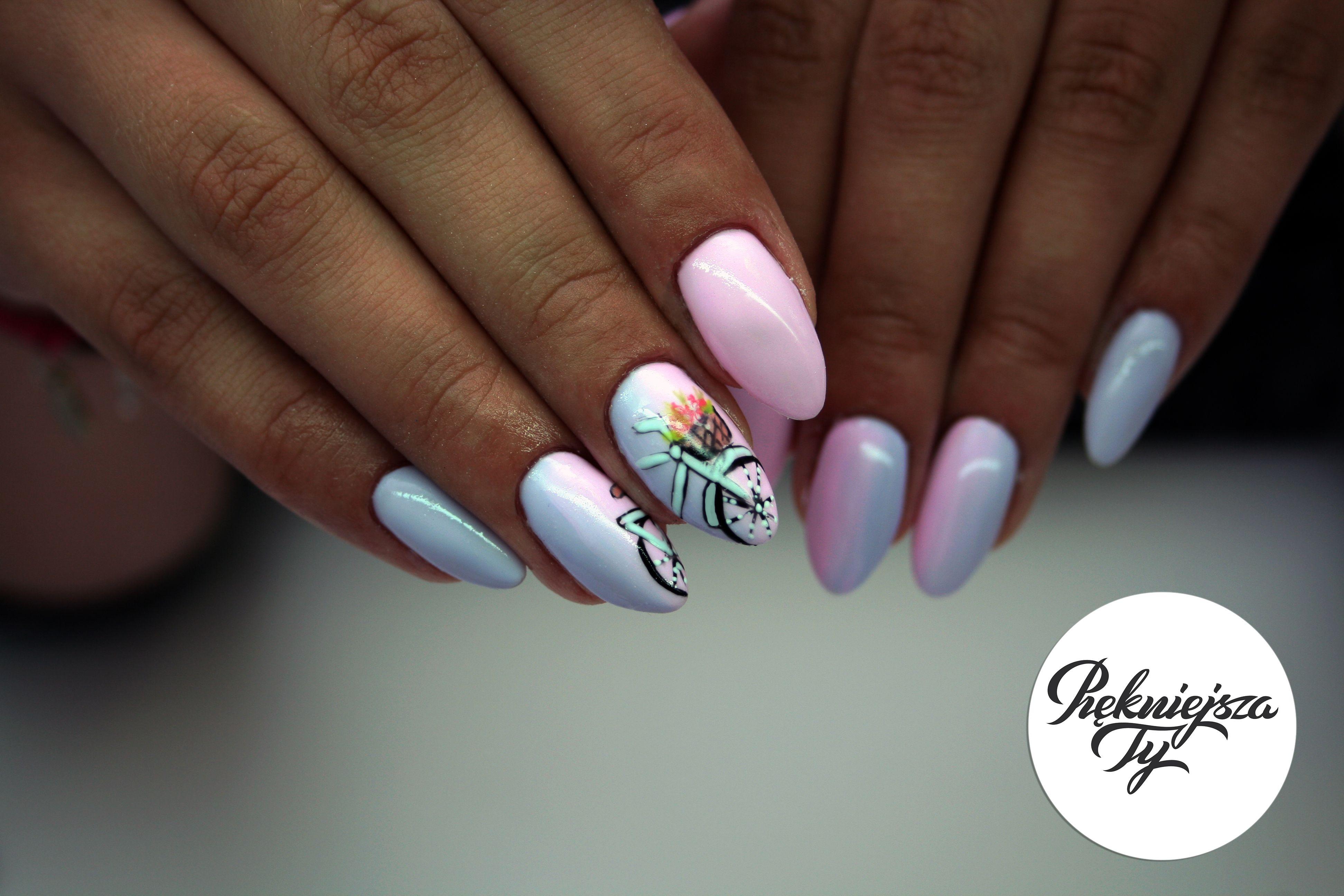 Manicure Hybrydowy With Images Manicure Paznokcie Paznokcie