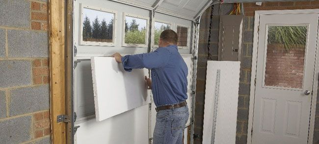 Need To Insulate Our Garage Starting With The Doors Handyman