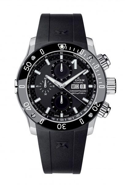 db9abcc21 Edox uvádí novou řadu hodinek Chronoffshore- 1. Hodinky navržené pro závod  motorových člunů, údajně nejtvrdšího vodního sportu na světě.