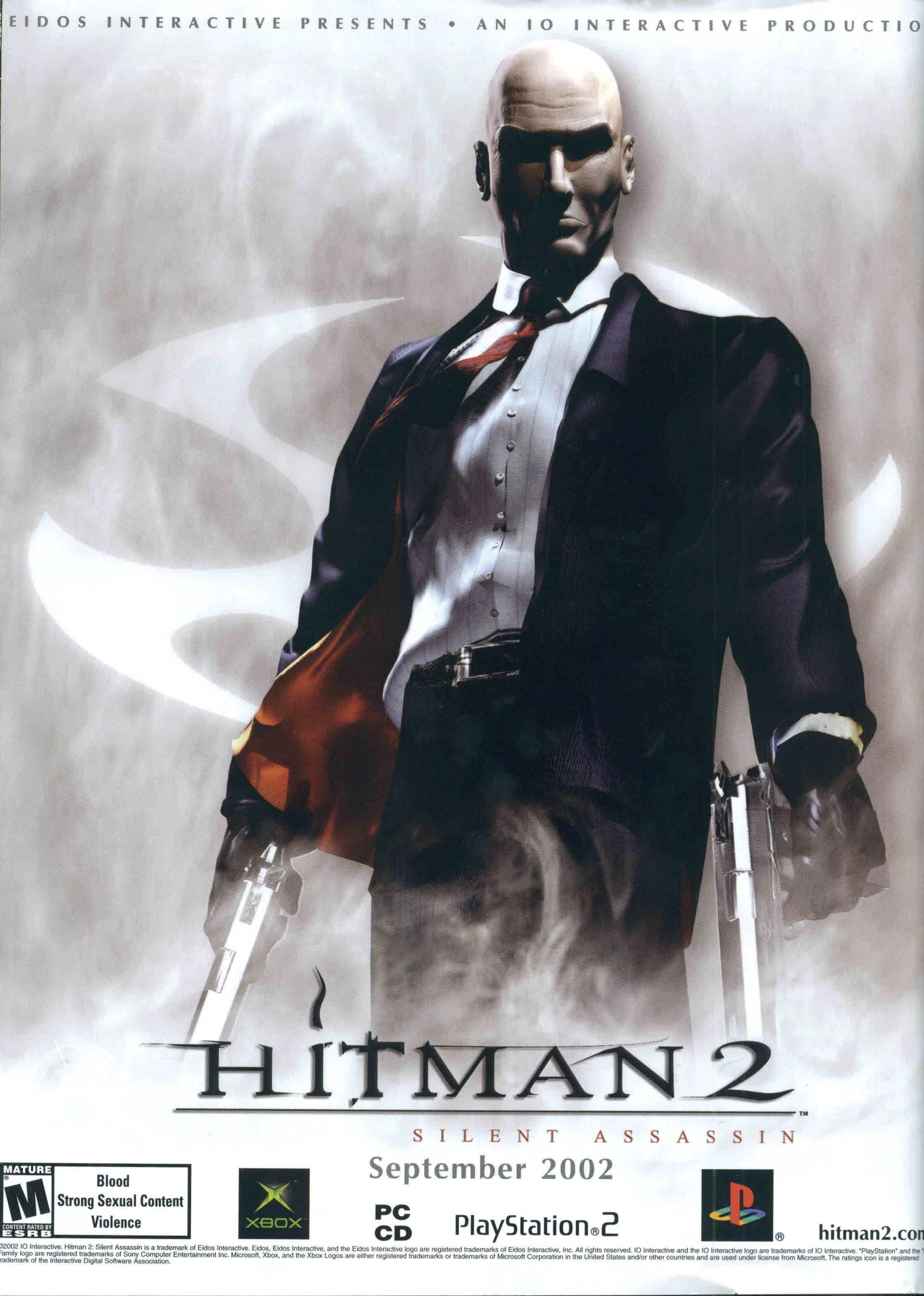 Hitman 2 Hitman Fictional Characters Character