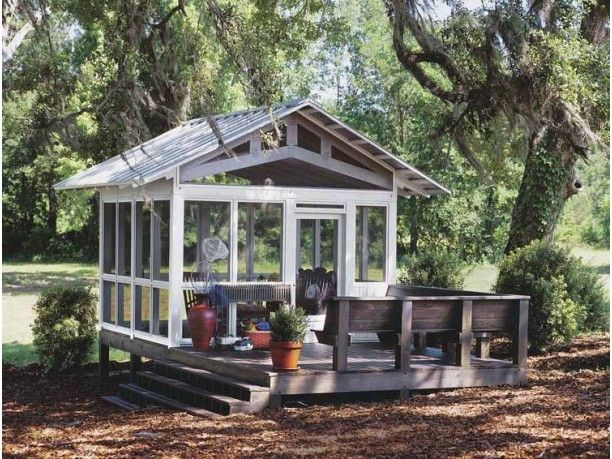 Alternatives To The Traditional Screened Porch Screen House Screened Gazebo Outdoor Rooms