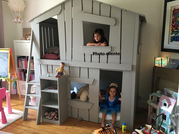 Lit Cabane Superpose Deco Chambre Enfant Chambre Enfant Lit Cabane