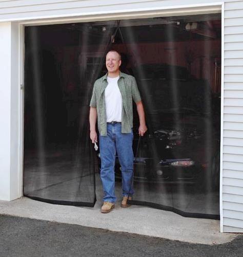 New York Wire 90 X 114 Roll Up Fiberglass 1 Car Garage Door Screen