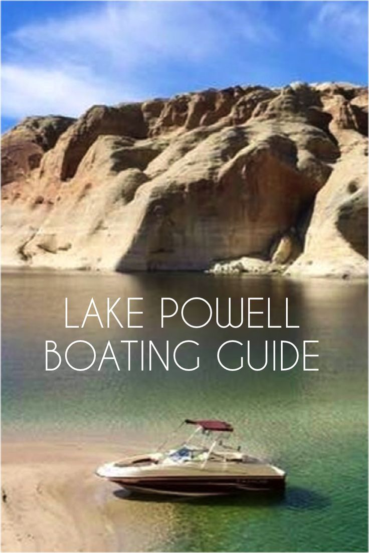 Guide to boat rentals on lake powell with images lake