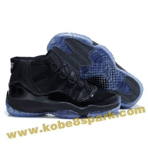 Air Jordan 11 Black Blue Factory