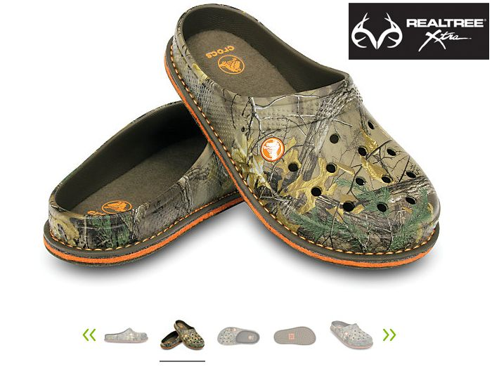 13070c9f085  New  realtreeXtra  Camo  Crocs Slipper. It s light and cozy but not too  hot — make it your official house shoe all year long.  34.99