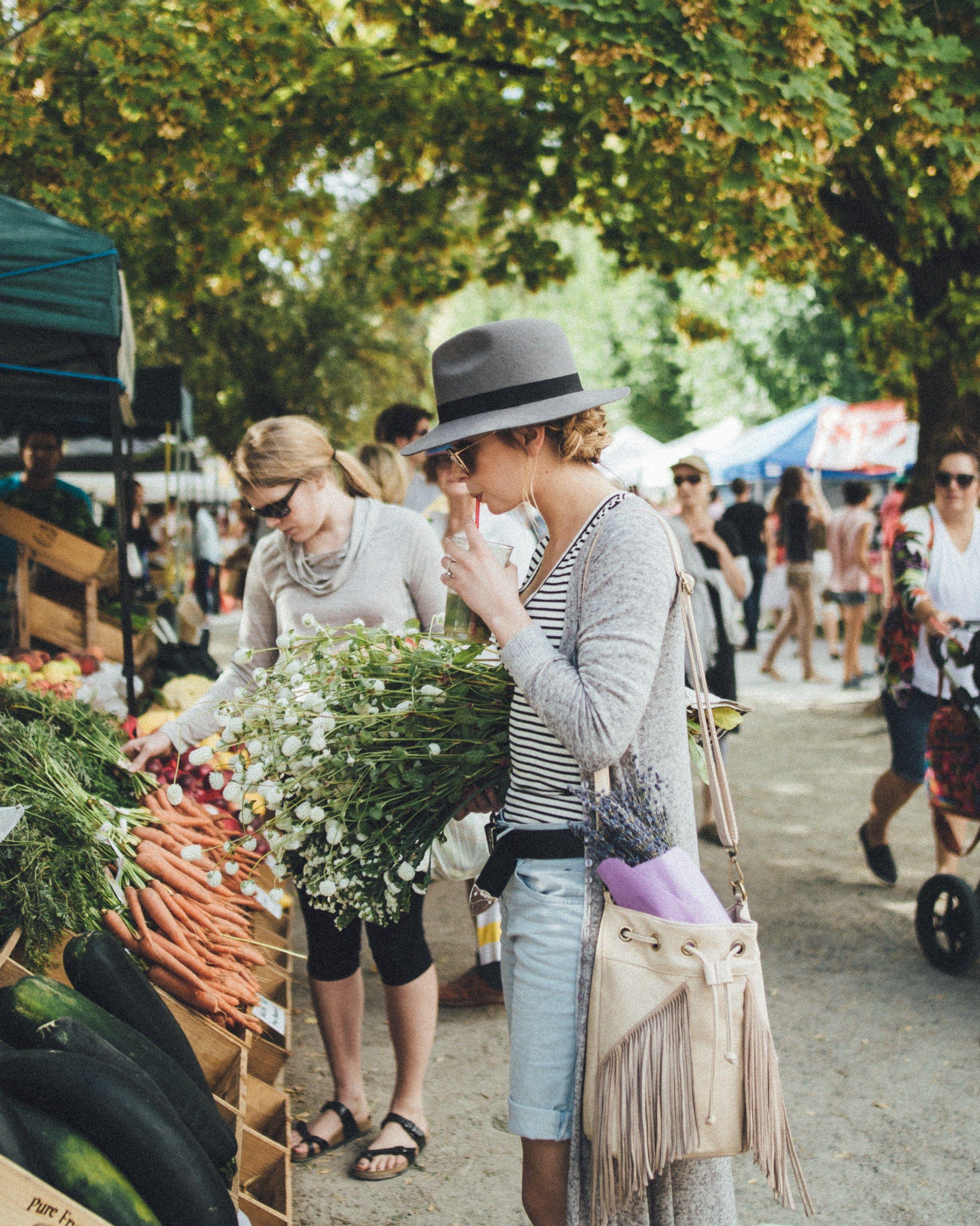 Market Mornings | Makenna Alyse