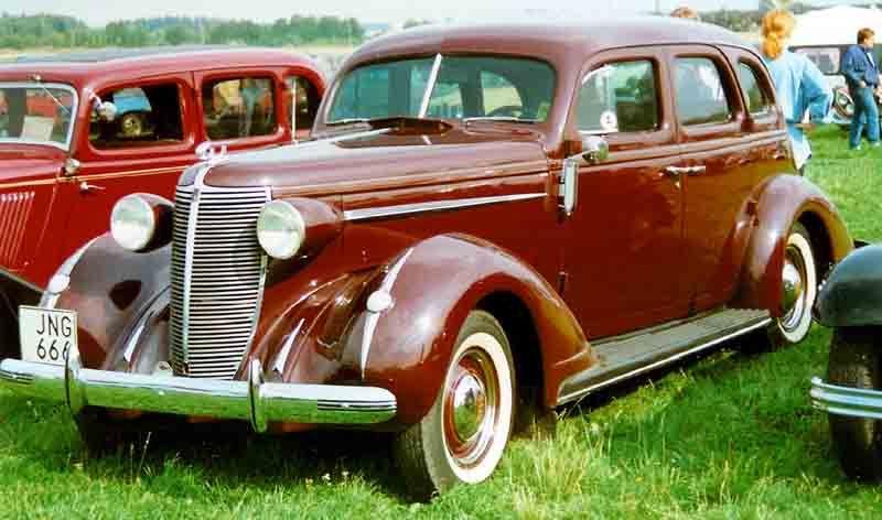 Nash Ambassador Six 4 Door Sedan 1937 Nash Motors Amc