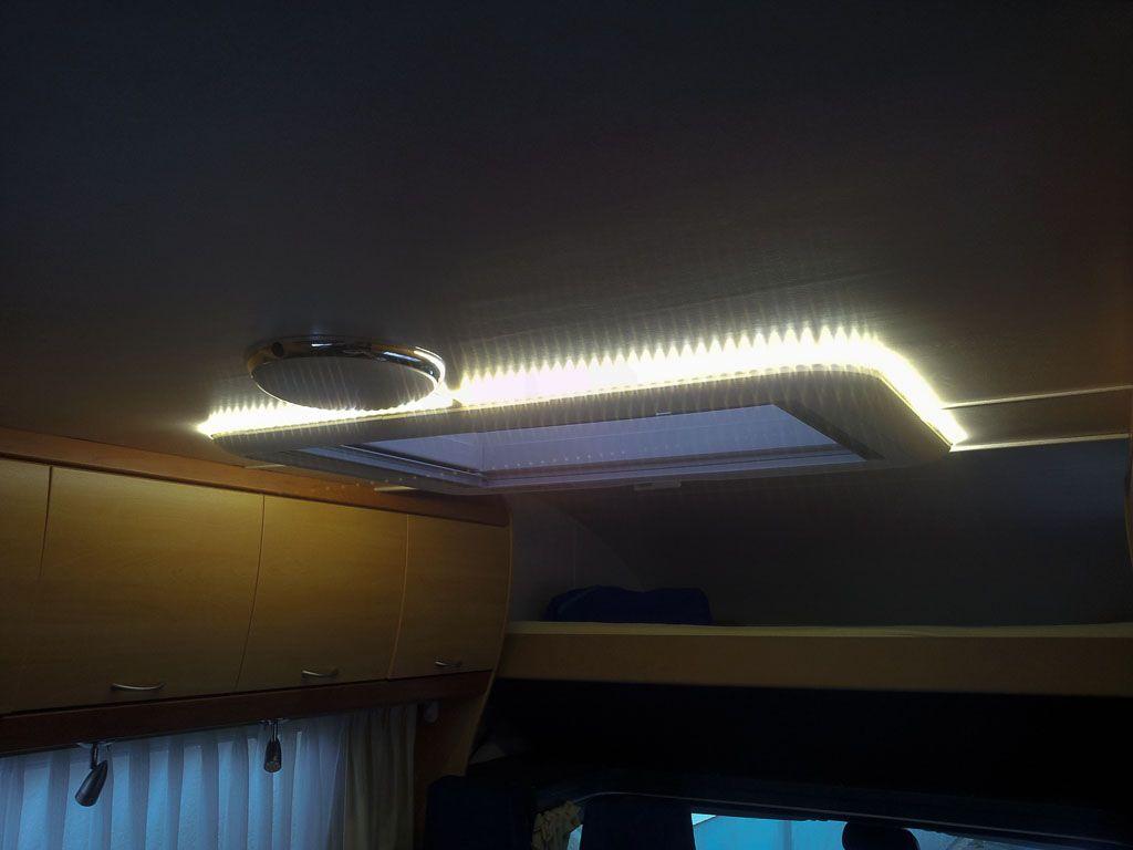 Bastelei Endlich Licht Die Heki Wird Zur Monsterlampe Womo Blog Camping Diy Lampe Urlaub Im Wohnmobil