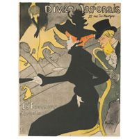 Henri de Toulouse-Lautrec: Divan Japonais, 1892-1893