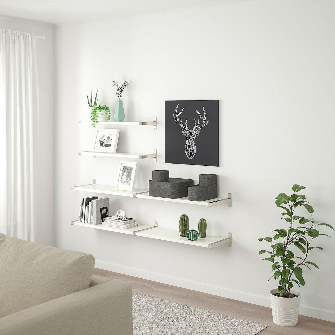 BERGSHULT / GRANHULT Wall shelf combination white