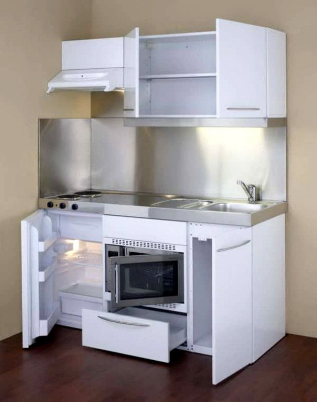 Amazing Compact Kitchen Unit Design #HouseIdeas | Campers in ...