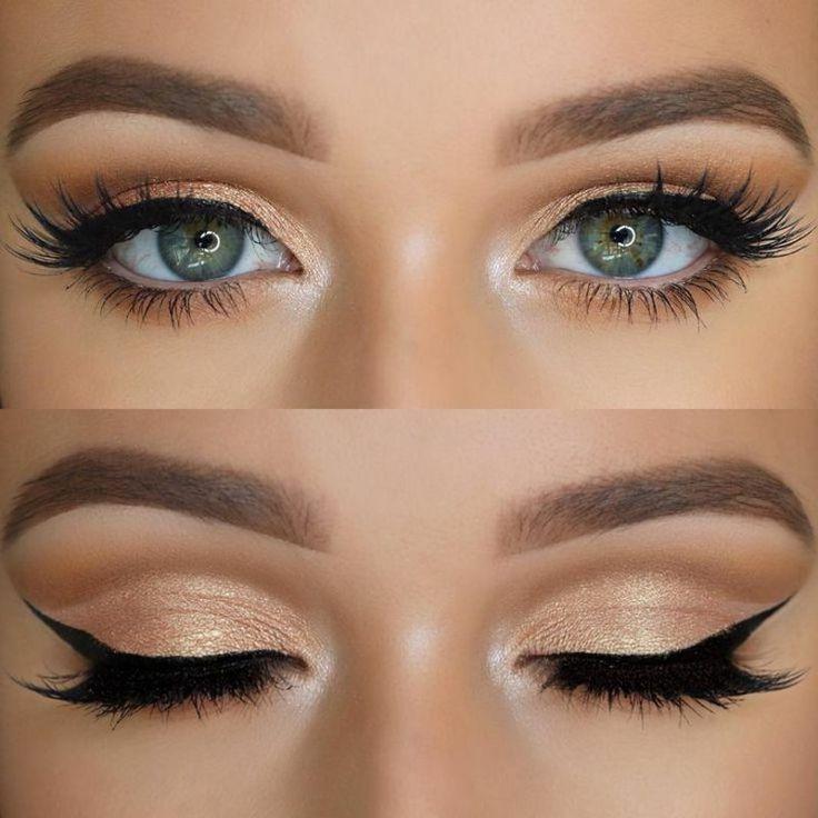Effekvolles Make-up für blaue Augen – tolle Schminktipps – ABELLA PİNSHOUSE