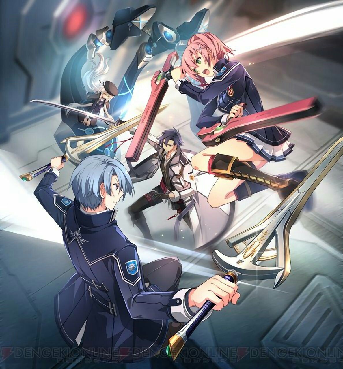 Cold Steel Iii Hype Trails Of Cold Steel The Legend Of Heroes Anime
