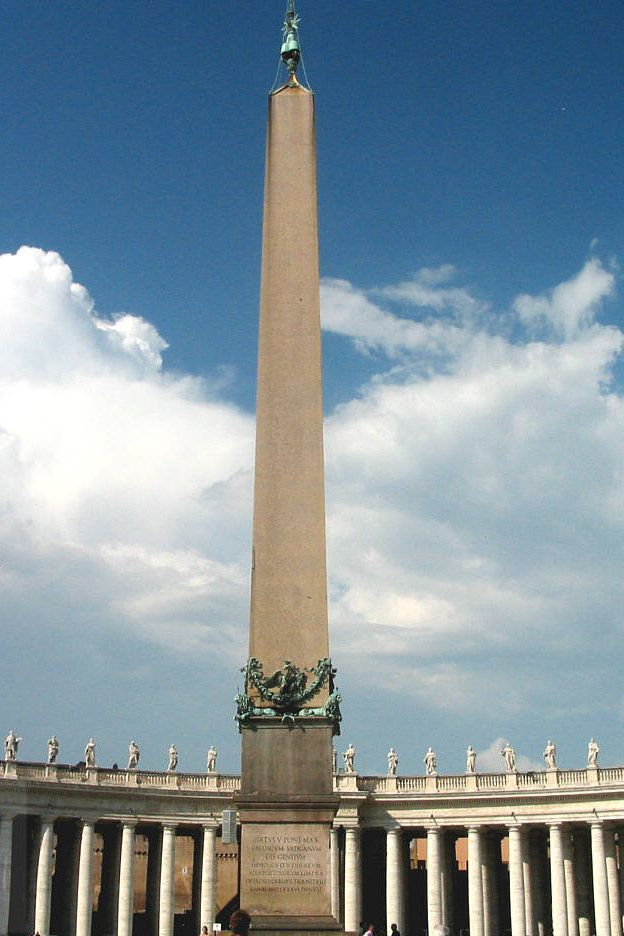 The Vatican Obelisk Was Originally Taken From Egypt By