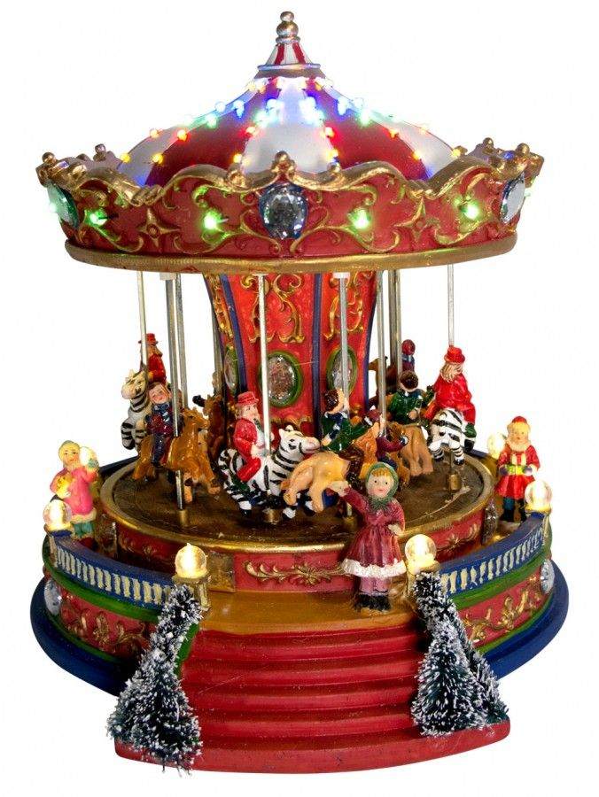 Nice Christmas Musical Scenes Ornaments Part - 4: Musical Carousel Ornament - Google Search