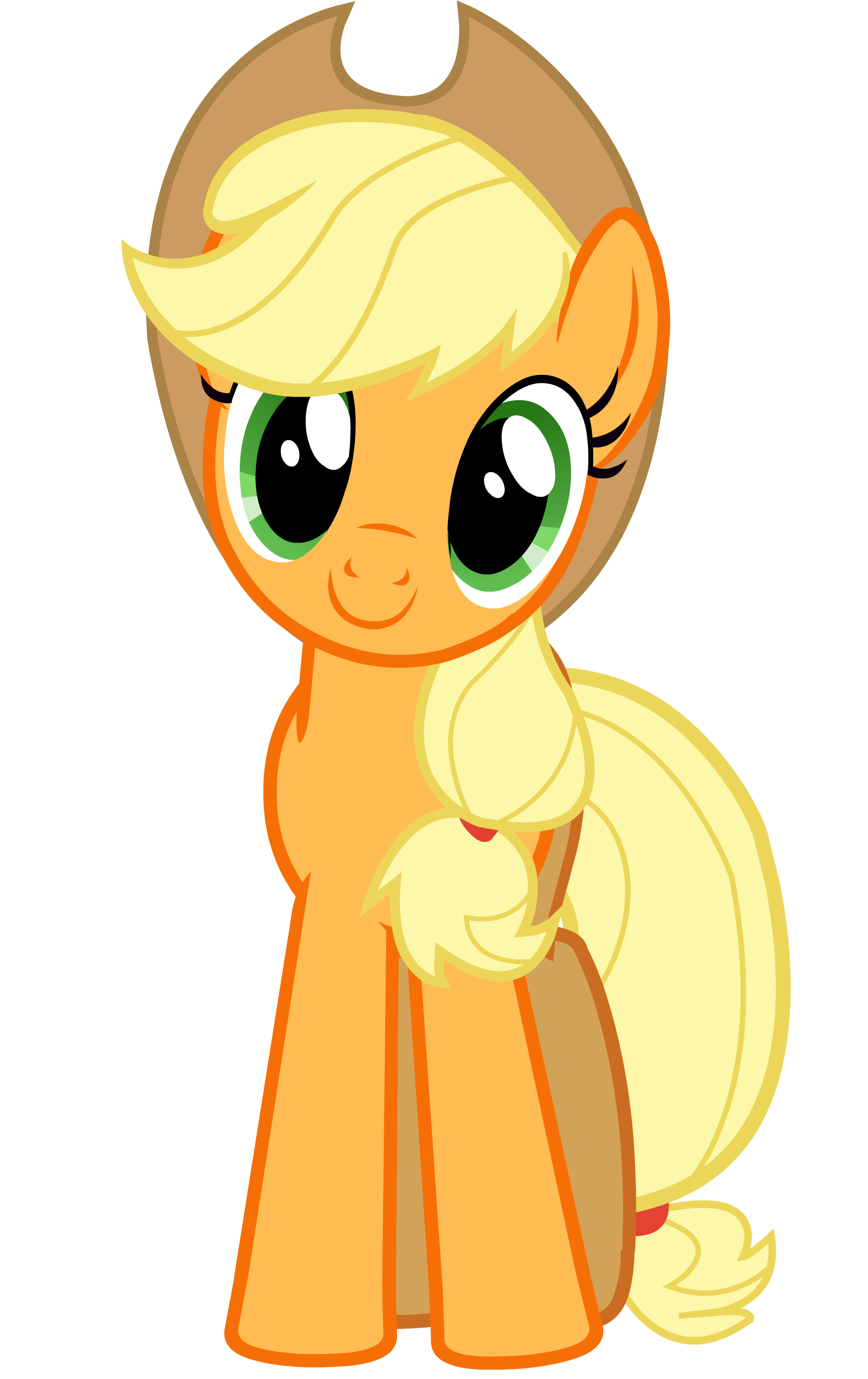 MLP - Happy Applejack | My Little Pony :P | Pinterest ...