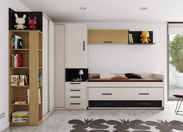 Dormitorios juveniles modernos muebles boom 42 juv mod 17 home - Muebles boom dormitorios ...